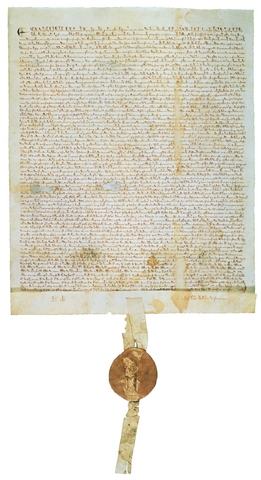 Magna Carta is adopted