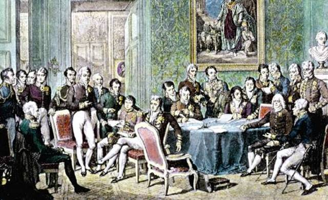 Congress of Vienna, 1815