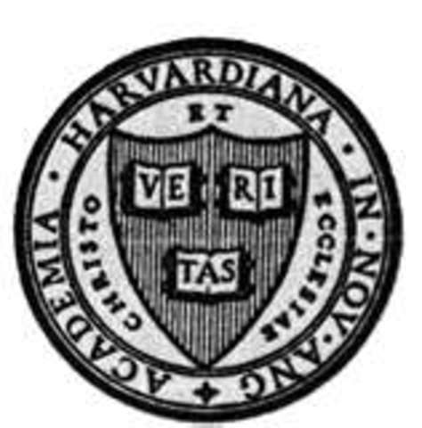 Founding of Harvard