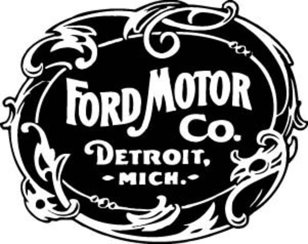 Ford Motor Company Formed