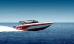 Speed boat picture 01  landscape