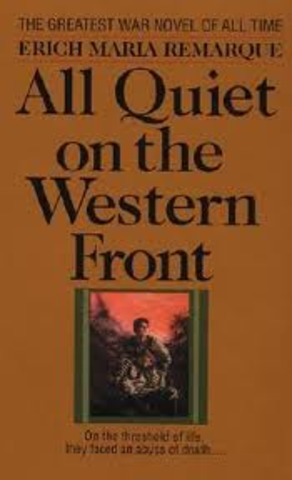 "an analysis of warfare in all quiet on the western front by erich maria remarque ""all quiet on the western front"" and ""slaughterhouse 5 the two novels all quiet on the western front by erich maria erich maria remarque's all quiet."