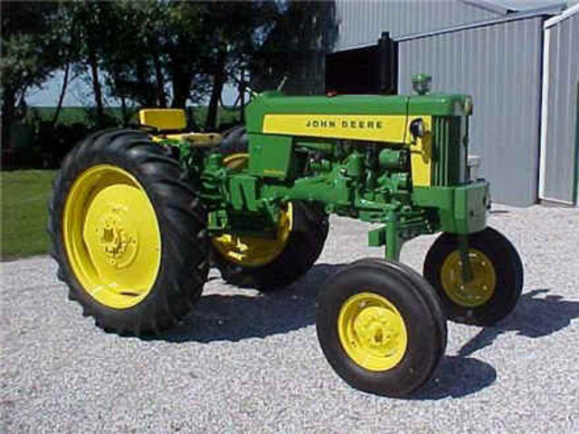 Open Gear Tractors invented