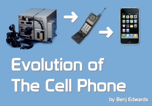 the cell phone evolution The cell phone evolution table of contents the beginning 3 a new way to communicate 4 present cell phones 6 future cell phones7 references8.