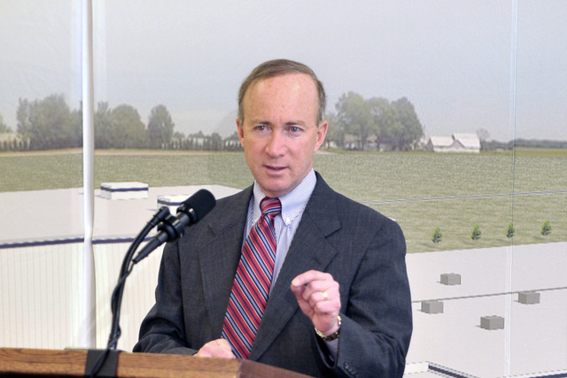 Gov. Daniels Signs Budget With I-69 Funds
