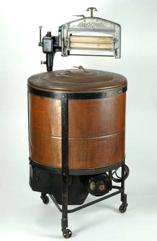 First electric washing machine