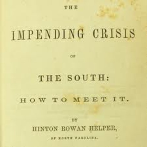 "The ""Impending Crisis"" Published"