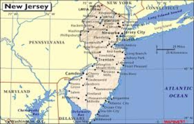 New Jersey Abolishes Slavery