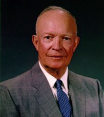 Dwight D. Eisenhower Inaugurated as President