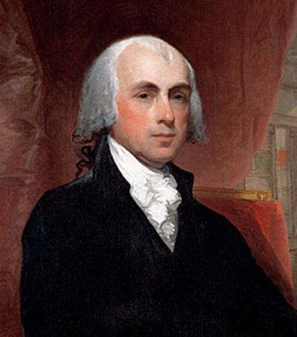 James Madison timeline...