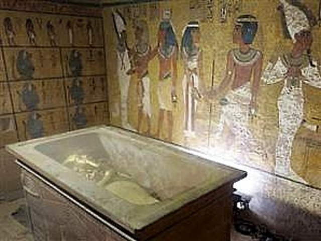 King Tut is buried in the Valley of the Kings