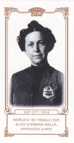 The first woman with full police power was hired by Los Angelos Police Department