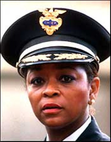 First Female African American Police Chief