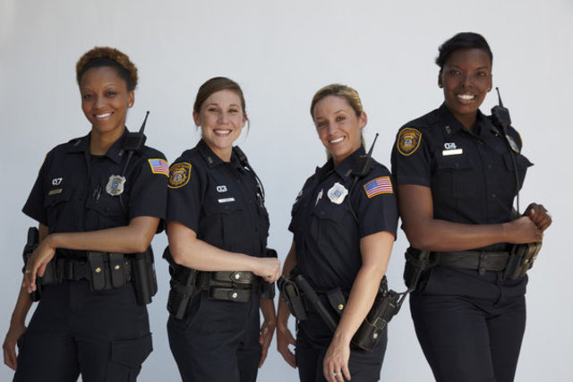 Growing number of police women