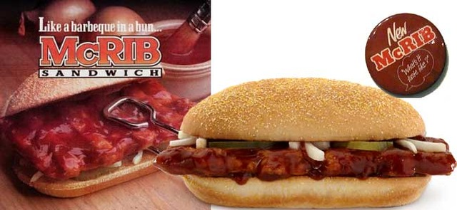 The McRib is introduced