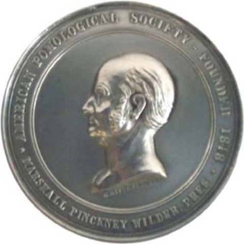 Bailey is awarded second Marshall P. Wilder medal