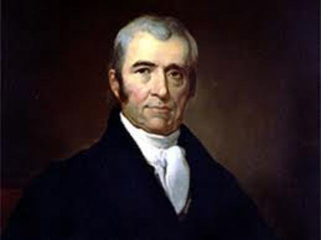 a biography of john marshall John marshall was born on september 24, 1755 in germantown, virginia he served first as lieutenant, and after july, 1778, as captain in the continental army in the revolutionary war, spending the winter of 1777-1778 with the troops in valley forge in 1781, he resigned his military commission .