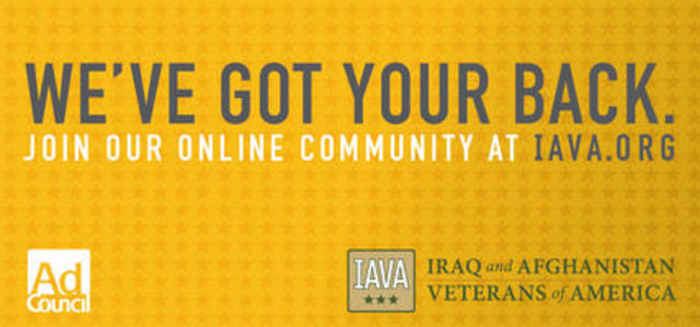 IAVA and Ad Council launched national outreach campaign for veterans