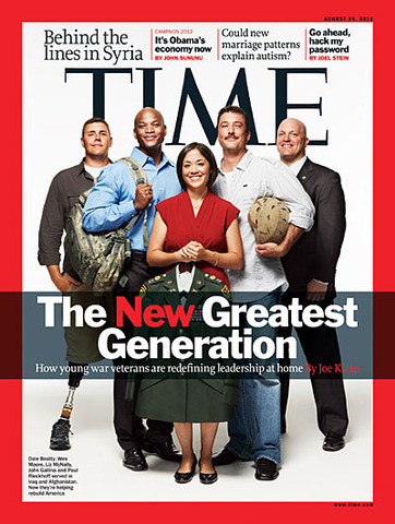 IAVA leaders featured on TIME magazine cover