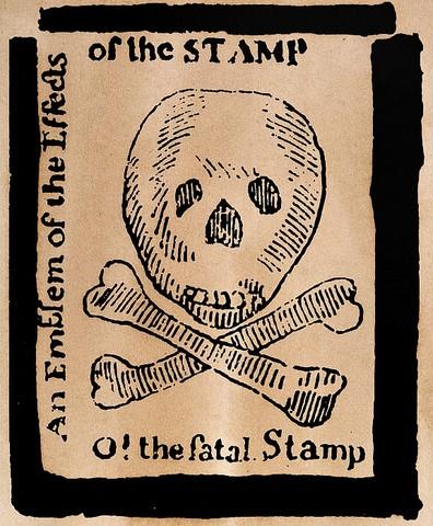 Stamp Act Cartoon Granger
