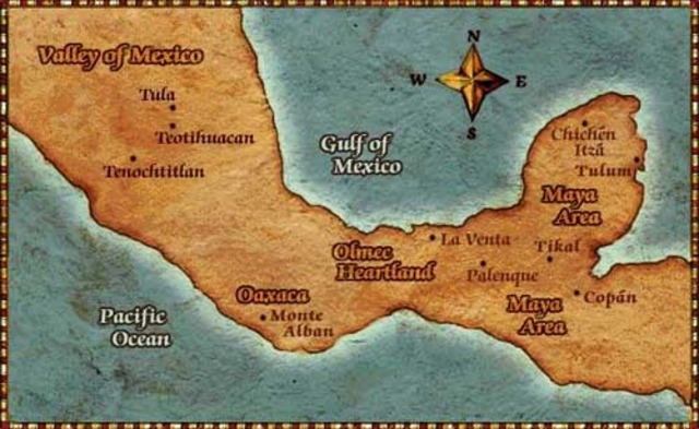 The Aztecs arrived in the Valley of Mexico