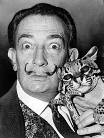 The Life of Salvador Dali timeline | Timetoast timelines