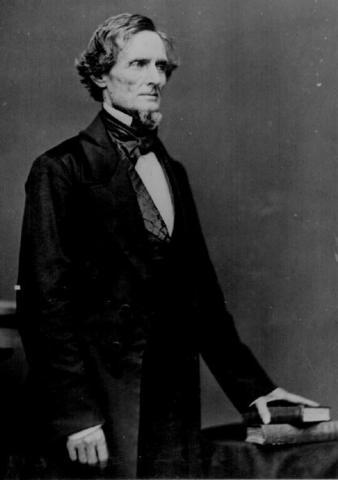 Jefferson Davis Elected