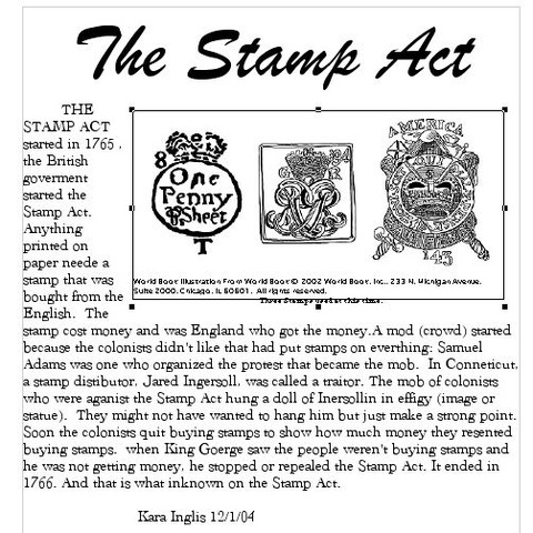 the stamp act crisis essay On the 250th anniversary of the stamp act on the origins of america's culture of tax resistance: the stamp act crisis lengthy essays.
