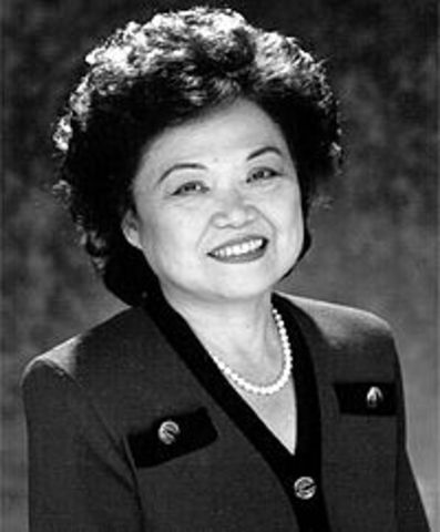 First Asian American Congresswoman