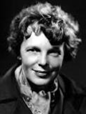 Amelia Earhart's birth