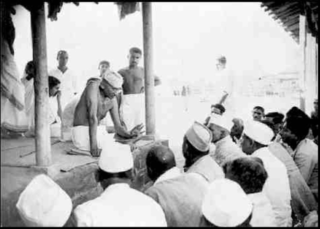 gandhis civil disobedience movement Truth is the most fundamental aspect in gandhi's philosophy of nonviolence the tools of civil disobedience satyagraha is itself a movement intended to.