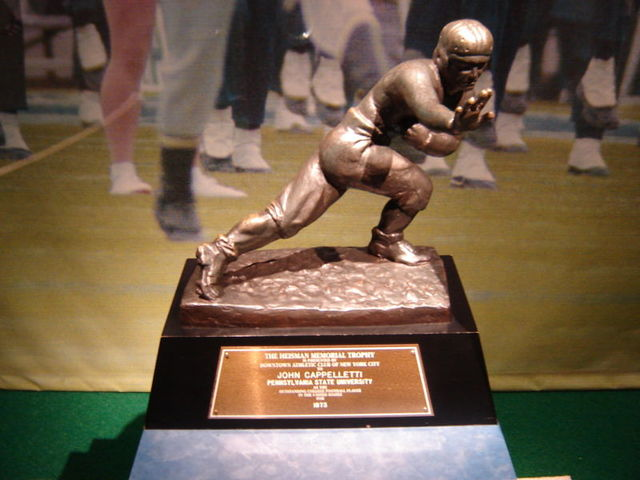 Heisman Trophy is introduced