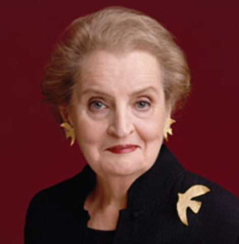 Madeline Albright's Birth