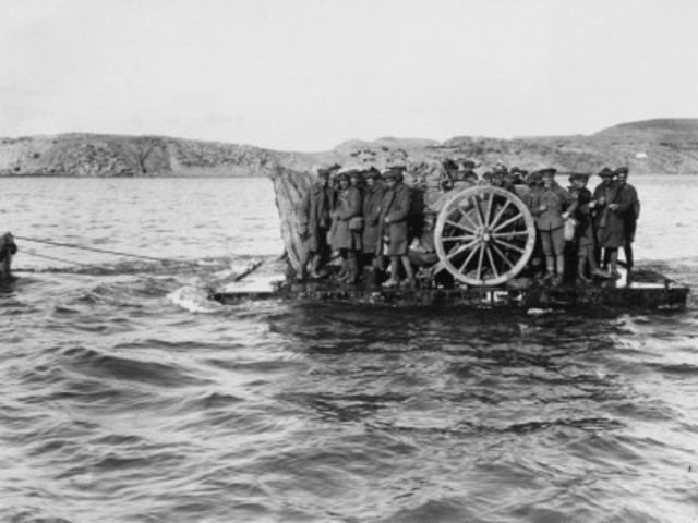 End of The Battle of Gallipoli