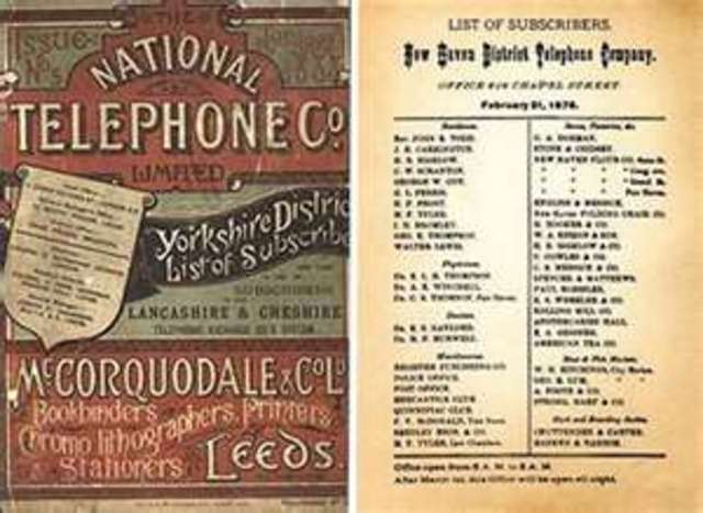 First Telephone Directory Published