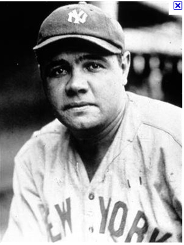 Babe Ruth hits 60 homeruns