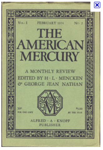 The American Mercury Magazine