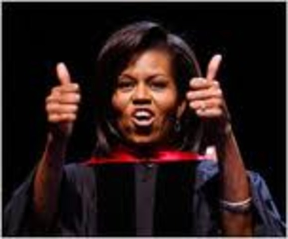 Michelle Obama graduates from Princeton University