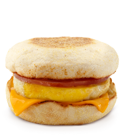 Egg Mcmuffin and drive thru