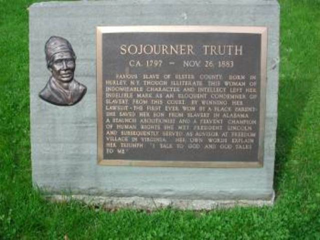 Sojourner Truth's Death