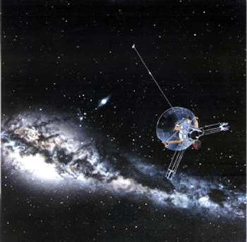 Pioneer 10 leaves Solar System