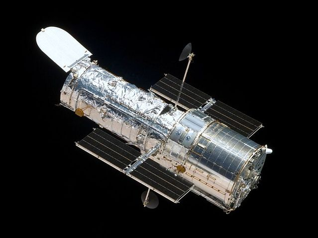 Hubble Telescope Launched