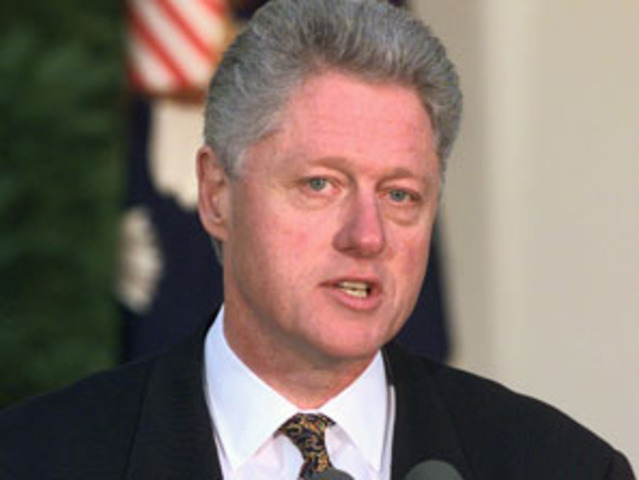 Clinton Impeached