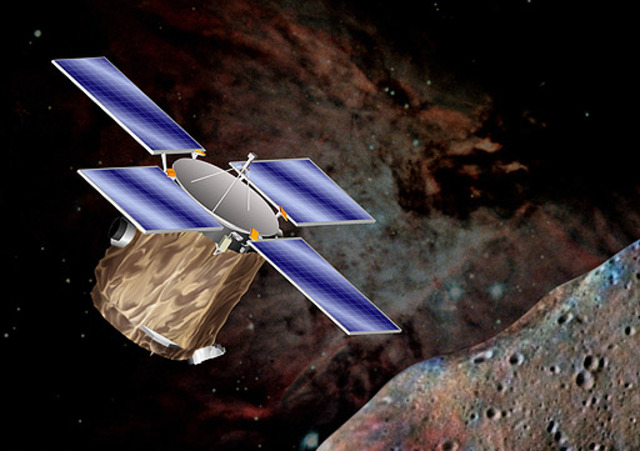 Probe lands on Asteroid