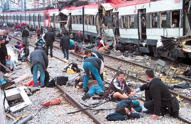 Terrorist Attack on Spanish Train