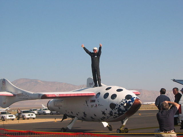 SpaceShipOne Achieves Flight