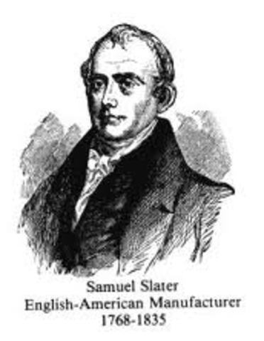 samuel slater Samuel was born in delpy, derbyshire, england as the fith child in a eight child farm family slater received a basic education at a school run by a mr jackson in belper.