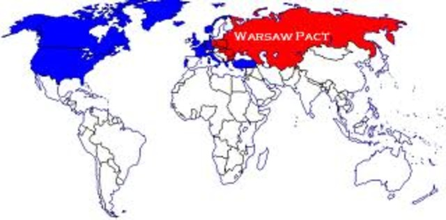 Warsaw pact date in Australia