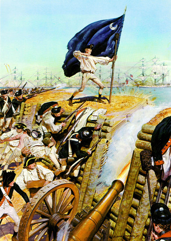 Battle at Charleston