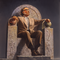 250px isaac asimov on throne